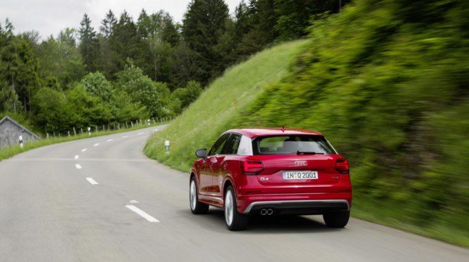 Test: Audi Q2 –Klein q! Foto: spothits/Audi