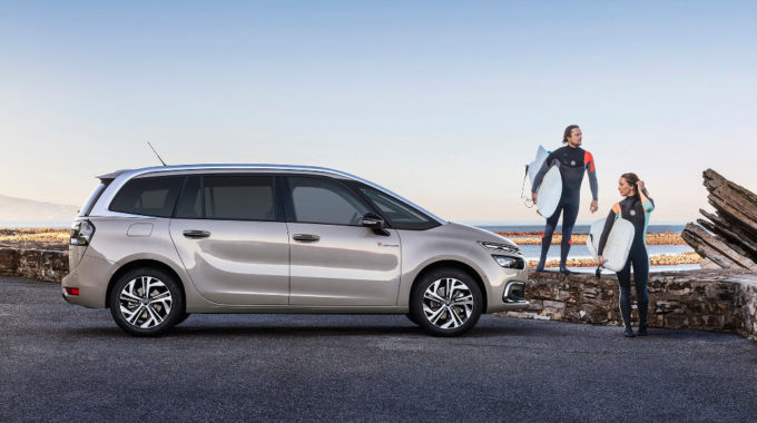 Citroën C4 Picasso als Sondermodell Ripl Curl. Foto: spothits/Copyright WILLIAM CROZES @ Continental Productions
