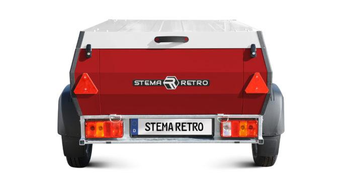 CMT 2018: Stema Retro – serienreifer Pkw-Anhänger feiert Premiere. Foto: spothits/Stema