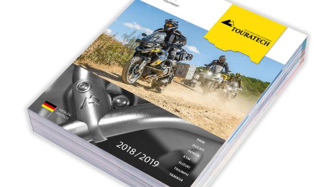 Der neue Touratech Katalog 2018 ist da. Grafik: spothits/Touratech