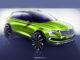 Genf 2018: Skoda Vision X – Neue Crossover mit Hybridantrieb. Grafik: spothits/Skoda