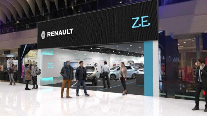 Renault stellt E-Autos in Concept Store in Stockholm vor. Foto: Renault/spothits
