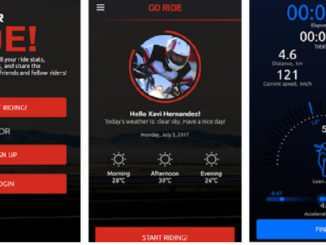 Yamaha MyRide App: Navi, Tagebuch und Fotoalbum per Smartphone. Grafik: spothits/Yamaha