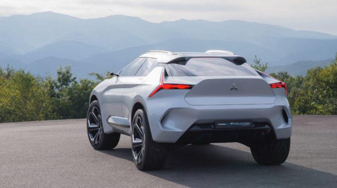Mitsubishi e-Evolution Concept. Foto: spothits/Mitsubishi