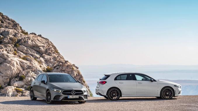 Mercedes-Benz A-Klasse rollt im Mai zu den Händler. Foto: spothits/Daimler