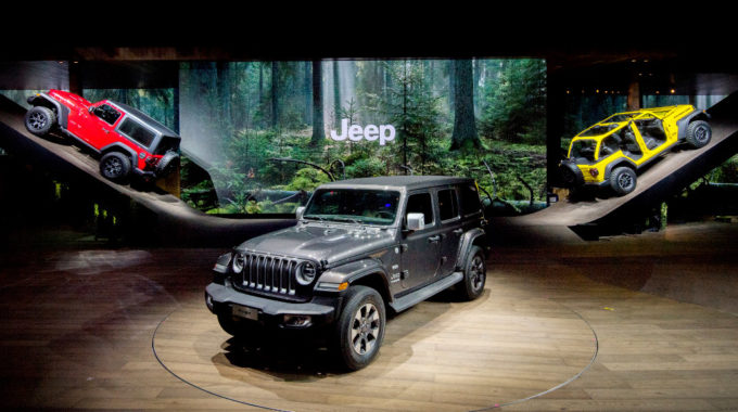 Genf 2018: Jeep Wrangler und Jeep Cherokee feiern Premiere. Foto: spothits/Jeep