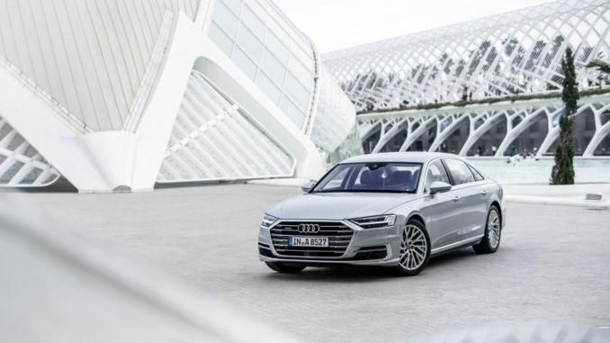 """Audi A8 zu """"World Luxury Car 2018"""" gewählt. Foto: spothits/Audi"""