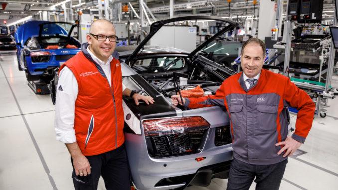 Audi R8 LMS GT4, Chris Reinke, Wolfgang Schanz. Foto: spothits/Matt Stark