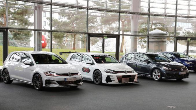 VW liefert 100. Golf GTI TCR aus. Foto: spothits/Volkswagen