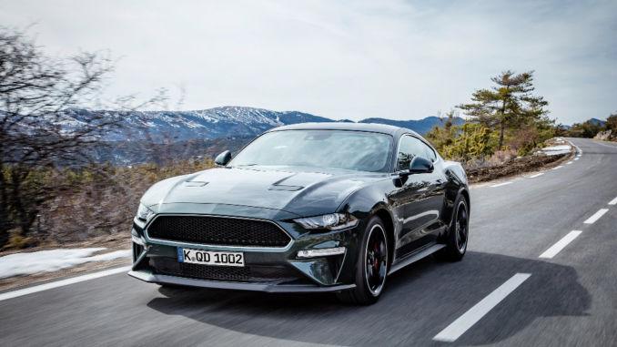 Genf 2018: Premiere Ford Mustang Bullitt Sondermodell. Foto: spothits/Ford