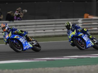 MotoGP Weltmeisterschaft Katar: Iannone in den Top Ten. Foto: spothits/press@suzuki-racing.com.