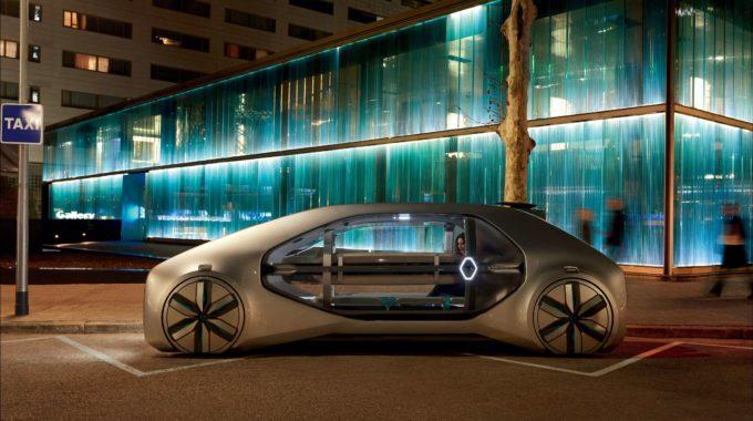 Genf 2018: Renault zeigt Robo-Taxi EZ-GO. Foto: spothits/Renault