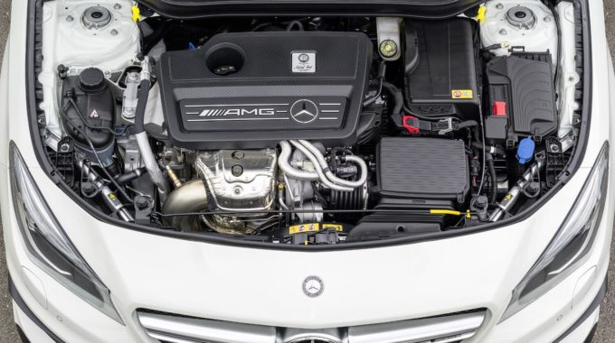 Test Mercedes-Benz CLA 45 AMG 4matic. Foto: Daimler