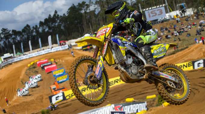 Motocross WM Damen MXW Agueda/PRT:Larissa Papenmeier auf Rang 2. Foto: spothits/Suzuki/Ray Archer
