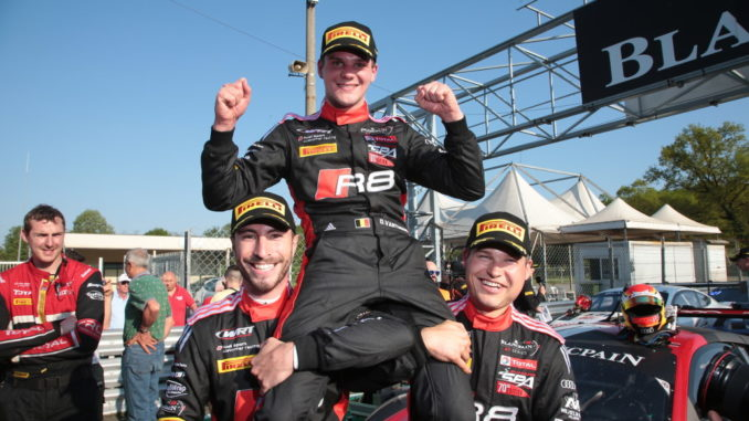 Blancpain GT Series Endurance Cup 2018: Alex Riberas, Dries Vanthoor, Christopher Mies. Foto: spothits/Georges Decoster