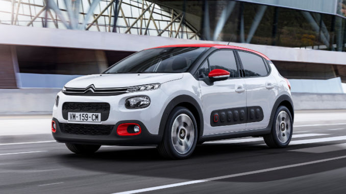 Citroen C3 ab sofort mit Euro 6d-TEMP. Foto: spothits/Citroen/William Crozes @ Continental Produtions