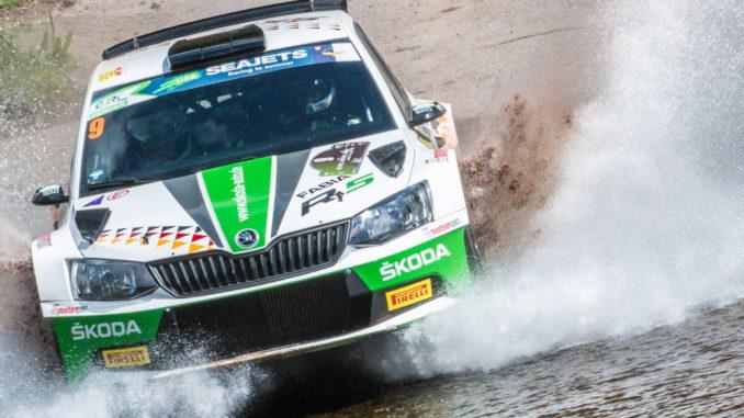 FIA Rallye-Europameisterschaft (ERC) 2018: Kreim/Christian wollen mit Skoda Fabia R5 aufs Podest. Foto: spothits/Skoda