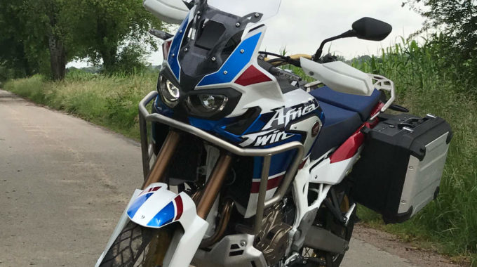 Honda Motorradtage 2018: Die neue Honda Africa Twin Adventure Sports. Foto: spothits