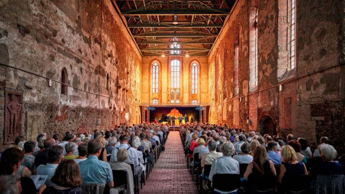 MDR Musiksommer Klosterkirche Grimma. Foto: spothits/obs/MDR Mitteldeutscher Rundfunk/Marco Prosch