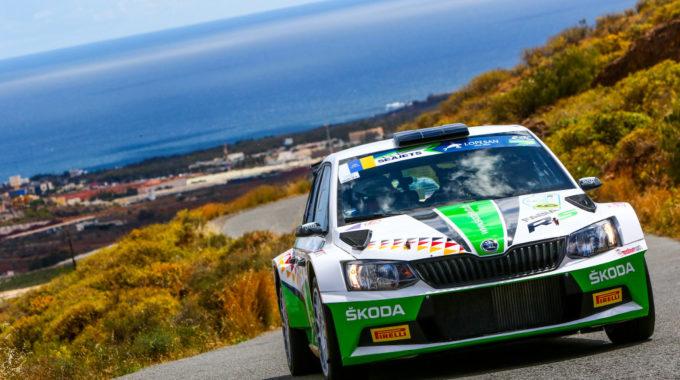 Zwölf Prüfungsbestzeiten, Doppelsieg: Der Skoda Fabia R5 ist das überragende Rallye-Fahrzeug in der U28-Wertung. spothits/Skoda