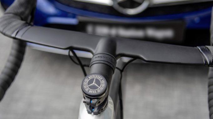 Mercedes-Benz und Argon 18 entwickeln High-End Fahrräder. Foto: spothits/Daimler
